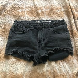 Black High Rise Mossimo Shorts